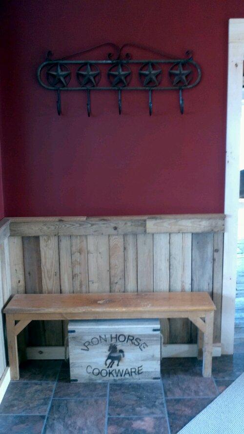 incredible barn wood chair rail 11